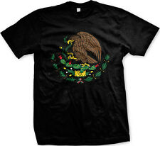 Mexico Crest- Mexican Pride Nationality Mens T-shirt