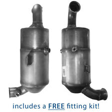 Diesel Particulate Filter DPF for Peugeot 107 1.6 Hdi DV6TED4 + Fitting Kit