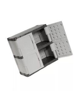 "Plastic Storage Cabinet Base Double Door 36""W x 18""D x 37""H"