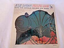 JULIE LONDON 1965 Jazz Feeling Good Vinyl LP on LIBERTY LRP-3416 NM VINYL