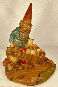 TAYLOR-R~1985~Tom Clark Gnome~Cairn Item #1089~Ed #73~Hand Signed~w/COA & Story
