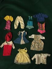 1960s 8+ Skipper Skooter Barbie Outfits Clothes Sundress Bathing Suit Sweater