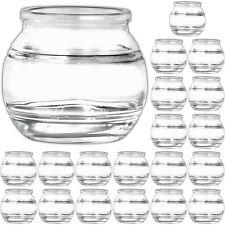 20 kleine Windlichthalter Teelichtgläser Kerzengläser Kerzenhalter für Teelicht