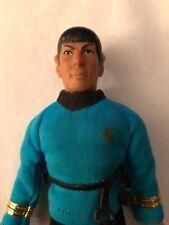 "1974 MR SPOCK Star Trek Mego 8"" Hong Kong TV Action Figure Doll Trekkie"