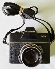 ROLLEIFLEX SL 26 Camera with Carl Zeiss Tessar 2.8/40 Lens Germany FREE SHIPPING