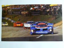1989 Nissan Group C Coupe Picture / Print / Poster RARE!! Awesome L@@K