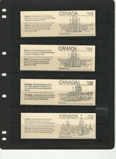 CANADA 1982 1983 MAPLE LEAF 3 FDC - STAMPS -5  BOOKLETS