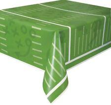 Football Field Plastic Tablecloth