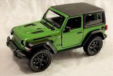 Kinsmart - 1:34 Scale Model 2018 Jeep Wrangler Rubicon Green (BBKT5412DG)