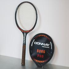 Vintage Donnay Bjorn Borg Pro Tennis Racquet Light 4 with Original Cover Rare