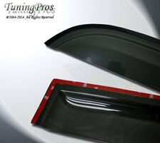 11-16 Fiat 500 2.0mm Outside Mount Rain Guard Wind Deflector Visor 2pcs