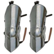 Forged Medieval Knight Leg Armor Poleyn Cuisse