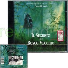 """FRANCO PIERSANTI """"IL SEGRETO DEL BOSCO VECCHIO"""" RARO CD 1993 OST - SIGILLATO"""