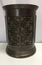 India Ink Imperial Waste Basket in Tuscan Gold