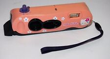 Vintage Hello Kitty Instant Flash Polaroid I-Zone Fun Film Pink Pocket Camera