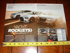 DODGE CHARGER SRT8 CHRYSLER 300 SRT8 JEEP GRAND CHEROKEE SRT8 - 2012 ARTICLE