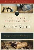 Cultural Backgrounds Study Bible-NIV: Bringing to Life the Ancient World of Scri