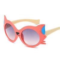 Kids Child Cartoon Cat UV400 Sunglasses Boys Girls Lovely Shade Goggles Eyewear