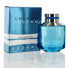 Chrome Legend By Azzaro Eau De Toilette Spray 2.5  Oz  75 ML For Men
