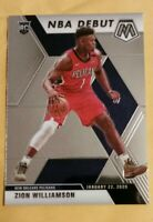 2019 panini mosaic debut Zion Williamson rookie New Orleans Pelicans star