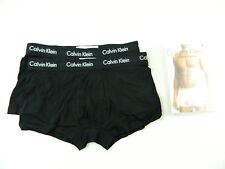 Calvin Klein $35 Black SZ M (32-34) MEN 2-PK Boxer Brief UNDERWEAR STRETCH C13