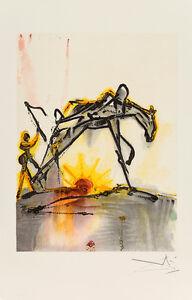 Le Cheval de Labeur - Les Chevaux de Dali by Salvador Dali Art Print