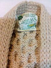 Carrais Mens L Hand Knitted Irish Sweater