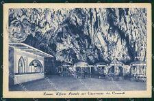 Slovenia Postumia Grotte Poste PIEGA cartolina QT4990