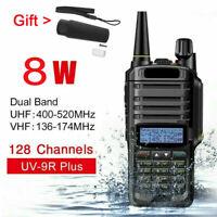 Baofeng UV-9R Plus 8W VHF UHF Walkie Talkie Dual Band Handheld Two Way Radio