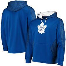 Toronto Maple Leafs величественные брони Therma база пуловер толстовка с капюшоном синий/белый 2XL