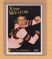 JOAN WESTON, THE BLONDE BOMBER, '65 SF BAY AREA BOMBERS ROLLER DERBY STAR