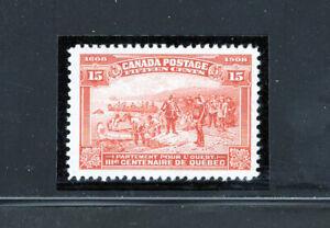 Canada 102 VF og LH Quebec, CV $225