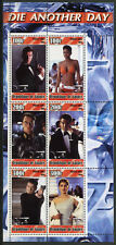 Guinea 2003 MNH James Bond 007 Die Another Day 6v M/S I Movies Stamps