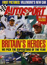 Autosport 17 Dec 1998 - BAR, Damon Hill, Pedro Diniz, Zanardi's F1 return,
