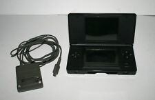 NINTENDO DS LITE USG-001 Black Game Console bundle Stylus Missing both the slots