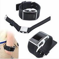 Black Luxury Men's Fashion LED Digital Date Sports Quartz Waterproof Wrist Watch