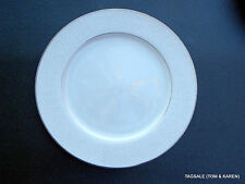 """LOVELACE by CROWN VICTORIA FINE CHINA ~ JAPAN ~ 10 3/8"""" DINNER PLATE ..........&"""