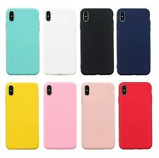 Case For Apple iPhone XS / iPhone XR / iPhone XS Max Frosted Back Cover