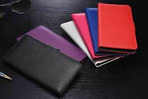 """iPhone 6 / iPhone Plus luxury leather wallet flip case (4.7"""" and 5.5"""" versions)"""