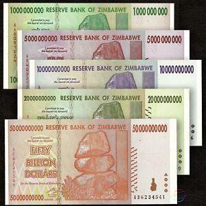 200 x Zimbabwe 50 Billion Dollar banknotes-AA//AB 2008//low grade//very used
