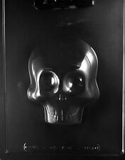 Large 3D Skull (Front) Chocolate & Soap Mold - H166A