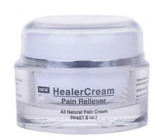 HealerCream Pain Relief Cream - Natural Arthritis and Back Pain Reliever