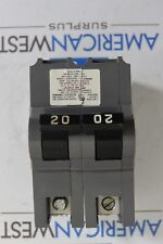 UBIF220  UBI Inc 2 Pole 20 amp 120/240 volt plug in NA replacement breaker