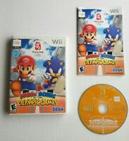 Mario And Sonic At The Olympic Games Beijing 2008, Nintendo Wii, CIB Complete