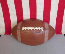 Vintage 1960s Jahre Hiawatha Leder Fußball mit Schnüre Offizielle Größe