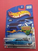HOT WHEELS - COLLECTOR - PONTIAC BONNEVILLE 1965 - LONG CARD - ANNEE 2001 - 5892