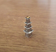 1/12 dolls house miniature Pagoda Oriental Ornament fireplace Table Cabinet  LGW