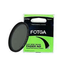 Fotga 46mm Slim Fader Neutral Density ND2 to ND400 Filter 46 mm Wide Adjustable