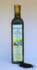 Bon Appetit 100% natureines, Égyptienne Huile de nigelle 4x 500 ml non filtrée