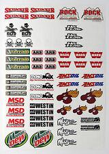 Rc Rock arrastrarse Calcomanías Stickers Rough Rider baja lnfernal
